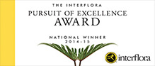 The Interflora Pursuit of Excellence Award